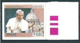 2012  PAPA GIOVANNI PAOLO I   0,60 Euro  NUOVO ** MNH - 6. 1946-.. Repubblica