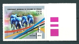 2013  CAMPIONATI MONDIALI CICLISMO  0,70 Euro  NUOVO ** MNH - 2011-...: Neufs