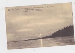 CANADA NORD OUEST SOLEIL DE MINUIT PERES OBLATS DE MARIE - Cartes Postales