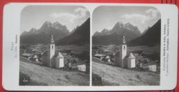 Stereofoto: Italien / Südtirol: Sesto / Sexten (BZ) - Stereoscopio