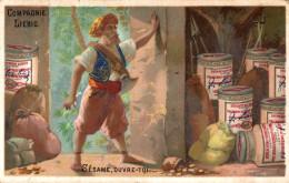 CHROMO LIEBIG SERIE 104 ALI BABA - Liebig