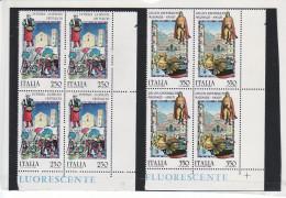 1985 - F O L C L O R E - QUARTINA NUOVA MNH**  VEDI++++ - 6. 1946-.. Republic