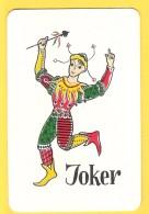 Joker Dansant - Verso Cuvée De L'Ermitage Jumet - Brasserie, Beer, Bière - Speelkaarten