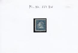 P Michel Nr. 137 BW  300 Jahre Postverkehr Der Schwedischen Post Zwischen Stockholm Jnd Hamburg - Gebraucht