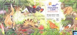 Malaysia Stamps 1996, Wildlife, MS - Malaysia (1964-...)