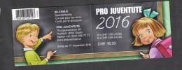 Schweiz ** Markenheft Juventute 2016 Postpreis  CHF 16,50 - Schweiz