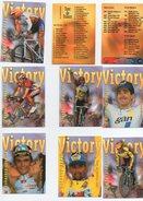 CYCLISME TOUR DE  FRANCE  1996  SERIE EUROSTAR  10 PETITES CARTES  A CHOISIR - Radsport