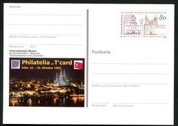 BUND PSo31 Sonderpostkarte PHILATELIA KÖLN ** 1993 - BRD