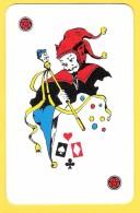 Joker Diable Avec Sceptre, étoiles Rouges - Verso L'Echo Du Centre La Louvière Soignies, Presse, Quotidien - Speelkaarten