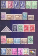 USED BOLIVIA 1945-66, 74V. - Bolivie