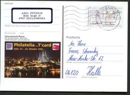 BUND PSo31 Sonderpostkarte BENEDIKTINER-ABTEIEN Maria Laach Und Bursfeld Gebraucht 1994 - Klöster