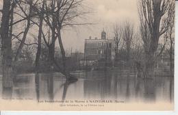 Les Inondations De La Marne à SAINT MAUR - Quai Schacken 19 Fevrier  1910  PRIX FIXE - Saint Maur Des Fosses