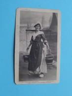 Hollandsch MELKBOERINNEKEN - LAITIERE Hollandaise ( Bijgesneden Kaart ) Anno 1913 ( Zie Foto Details ) !! - Pays-Bas