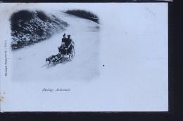 ATTELAGE DE CHIENS ARDENNAIS TIRAGE DE 1899 - Non Classés