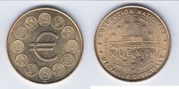 **** 75006 - PARIS - LOGO EURO 12 PIECES DE MONNAIE 2001 - MONNAIE DE PARIS **** EN ACHAT IMMEDIAT !!! - Monnaie De Paris