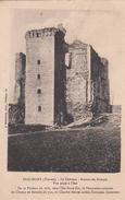 G , Cp , 86 , BEAUMONT , Le Château , Ruines Du Donjon , Vue Prise à L'Est - Sonstige Gemeinden
