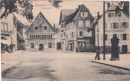 Carte Postale Ancienne Du Haut-Rhin - Münster I.E.  Rathaus - Munster
