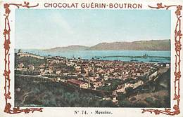 PIE-16-P - 2842 :  CHOCOLAT GUERIN BOUTRON  VOYAGE EN ITALIE   MESSINE - Guérin-Boutron