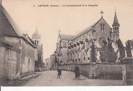 G , Cp , 86 , LA PUYE , La Communauté Et La Chapelle - France