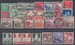 DR Aus 1933-1945 Lot Marken Postfrisch Und Gestempelt Ansehen - Briefmarken