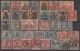 Danzig Lot 38 Marken Gestempelt Ansehen !!!!!!!!!!!!!! - Briefmarken