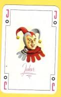 Joker Avec J Rouge - Verso Ferodo Flèche Cerf - Speelkaarten