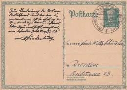 DR Ganzsache Minr.P207 SST Rügenwalde 28.9.27 - Deutschland