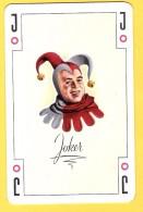 Joker Avec J Noir -  Verso Ready Roose Bandes Gommées Anvers Antwerpen - Speelkaarten