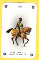 Joker Hussard N°54 - Petit Format 8 X 5 Cm ! - Verso Jubilee Cigarettes - Speelkaarten