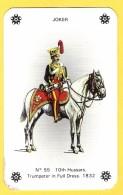Joker Hussard N°55 - Petit Format 8 X 5 Cm ! - Verso Jubilee Cigarettes - Speelkaarten