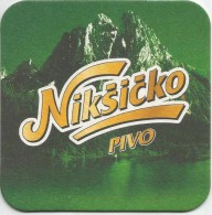 NIKSICKO PIVO  Beer Coaster  From Montenegro - Beer Mats