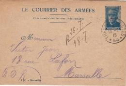 Lettre Correspondance Militaire Le Courrier Des Armées General Joffre