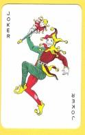 Joker Dansant Avec Sceptre - Collants Verts - Verso NGSF Genièvre, Bruges - Speelkaarten