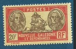 Nouvelle Calédonie  - -  N° 161 *  Légère  Cw1116 - New Caledonia