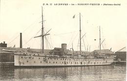 LE HAVRE : LE DUGUAY-TROUIN (bateau école) - Porto