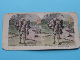 HELPING A WOUNDED COMRADE ( 12 ) Militair : Zie Foto´s Voor Detail ! - Stereoscopic