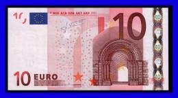 """X"" GERMANY Firma TRICHET P012 E6  UNC - 10 Euro"