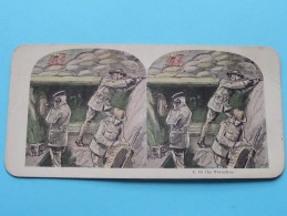 IN THE TRENCHES ( 8 ) Militair : Zie Foto´s Voor Detail ! - Photos Stéréoscopiques