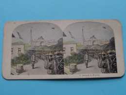 ARRIVAL IN FRANCE ( 7 ) Militair : Zie Foto´s Voor Detail ! - Stereoscopic