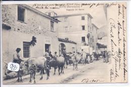 RIPA- SERAVEZZA--TRANSPORTO DEL MARMI- BELLE ANIMATION- RARE - Italy