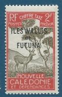 Wallis Et Futuna - Taxe  Yvert N° 22 (*)  Cw 1202 - Wallis-Et-Futuna