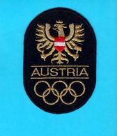 WINTER OLYMPIC GAMES 1976. INNSBRUCK - Original Vintage Olympics Patch * Olympiad Olympia Olympiade Olimpische Spiele - Kleding, Souvenirs & Andere