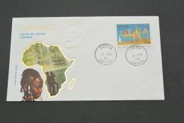 PJ357- FDC Roma-  Ghana-  Visita Di S.S. Giovanni Paolo II In - 1980- Visita Ad Accra - Papi