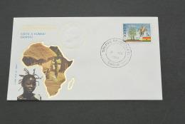 PJ358- FDC Roma-  Ghana-  Visita Di S.S. Giovanni Paolo II In - 1980- Visita Ad Kumasi - Papi