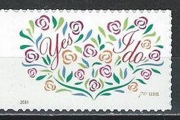 USA. Scott # 4881 MNH For 2 Oz. Letter. Yes I Do. 2014 - Nuevos