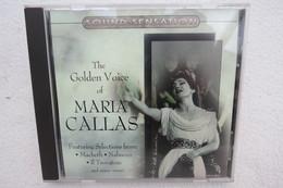 "CD ""Maria Callas"" The Golden Voice - Klassik"