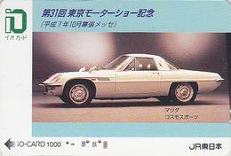Carte Prépayée Japon - VOITURE - Série Tokyo Motor Show - MAZDA - CAR Japan Prepaid IO Card - AUTO Karte - 3035 - Auto's