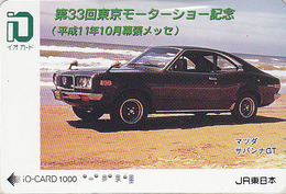 Carte Prépayée Japon - VOITURE - Série Tokyo Motor Show - MAZDA - CAR Japan Prepaid IO Card - AUTO Karte - 3036 - Auto's