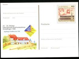 BUND PSo55 Sonderpostkarte KLOSTER MAULBRONN ** 1998 - Klöster