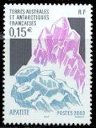 FSAT/TAAF 2003 Single:  Mineral, Apatite #315 - Nuevos